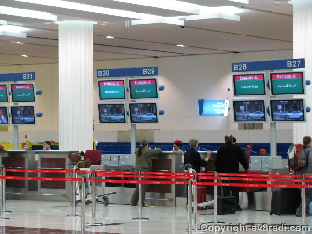 DXB-T3 Check-in counters