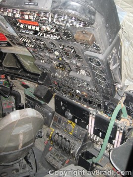 Flight Engineer's panel DHC-106 Comet
