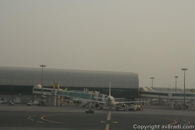 Qatar Airways A320 at DXB (1)