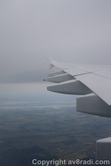 First glimpse of Canada….good to see greenery again!!!