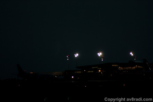 YOW Terminal at night ……taken while spotting at YOW (Early 2013)