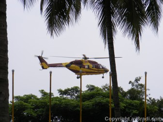 Another example of HAL using it for their helicopter test flights…taken from the HAL museum