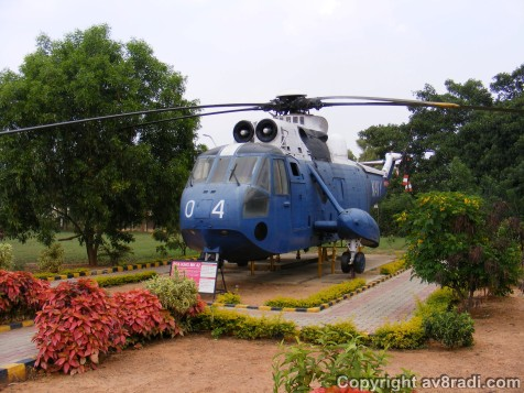 Great Landscaping around the Sea King MK 42