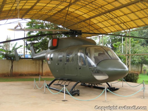 the HAL Advanced Light Helicopter (ALH or Dhruv)