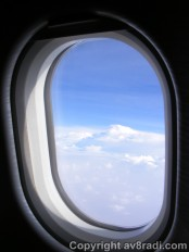 View out my window Airbus A330-200 (Emirates)