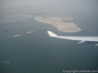Possible site of the Deira Palm Island