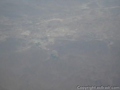 Somewhere over Fujairah