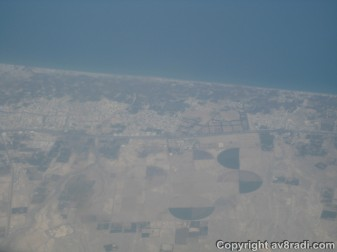 Over the Coast of Oman