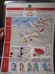 Safety Instructions for the A319