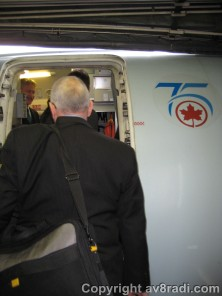 Boarding AC's E-190 to YYZ