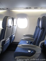 an example of AC E-190 seats