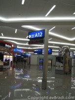 There was emphasis to Dubai Duty Free and the terminal felt like a mall