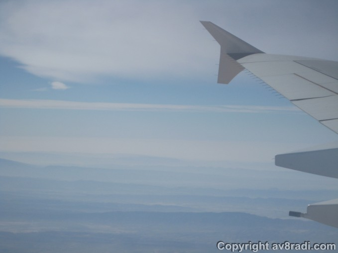 Clouds through mountains - This is why I love flying!!