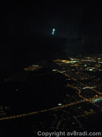 Take-off from YYZ