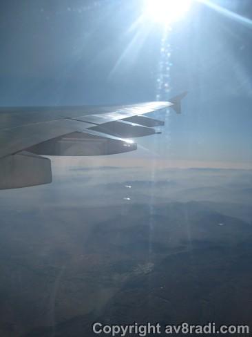 Flying over Eastern Europe!