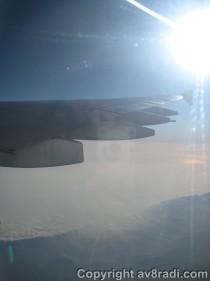 Interesting cloud formation below
