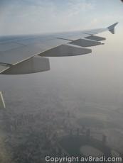 Flying over the Al Nahda area
