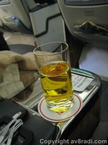 Welcome Drink (Apple Juice)
