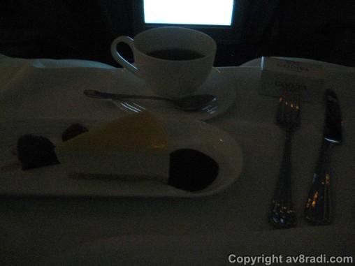 Dessert: Passion Fruit Cheesecake