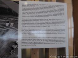Close up of the description