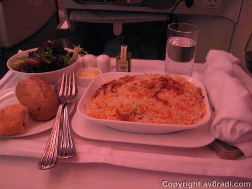 Dinner - Main course - Biryani